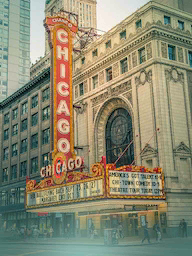 Word City Classic CHICAGO THE THEATER