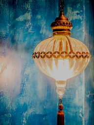 Word City DUBAI LANTERN