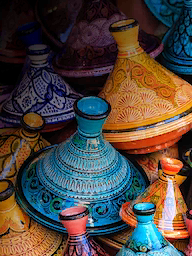 Word City MARRAKESH TAJINE POTS