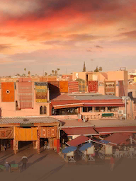 Word City MARRAKESH TOWN SQUARE