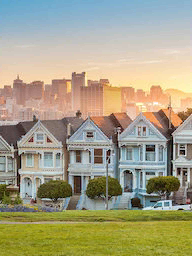 Word City SAN FRANCISCO PAINTED LADIES