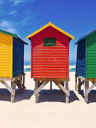 Word City CAPE TOWN BEACH HUTS