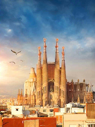 Word City BARCELONA THE CATHEDRAL