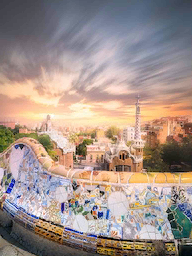 Word City BARCELONA PARK GUELL