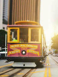 Word City SAN FRANCISCO CABLE CAR