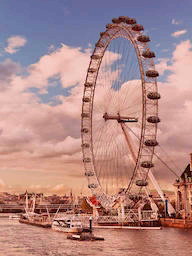 Word City LONDON LONDON EYE