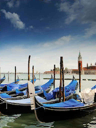Word City VENEZIA GONDOLAS