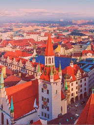 Word City MUNICH PANAROMA