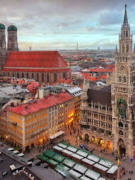 Word City MUNICH MARIENPLATZ