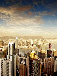 Word City HONG KONG SKYLINE